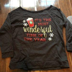 Tops - Starbucks and Disney sweatshirt size medium